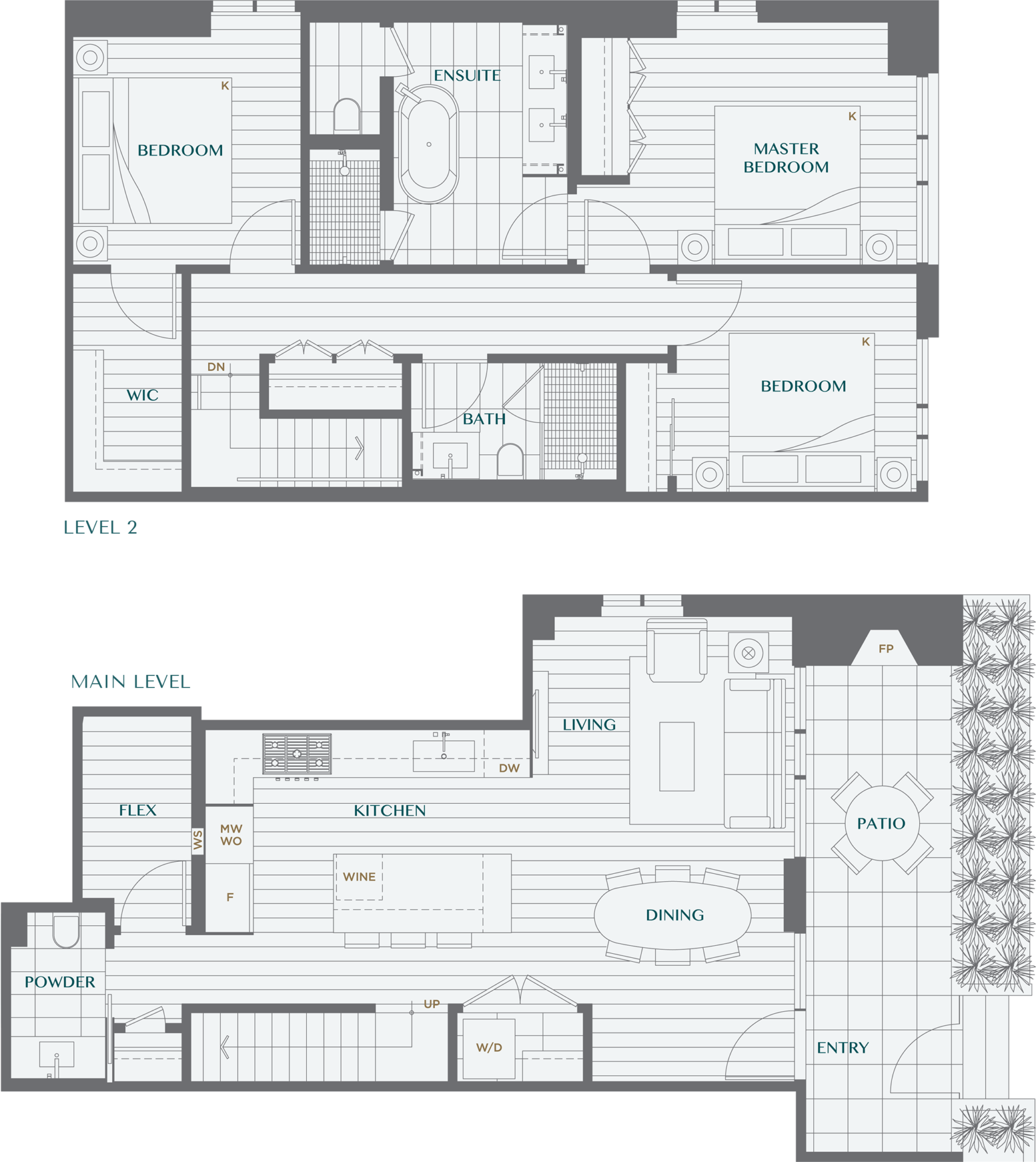 Legacy On Dunbar Floorplan TH3B