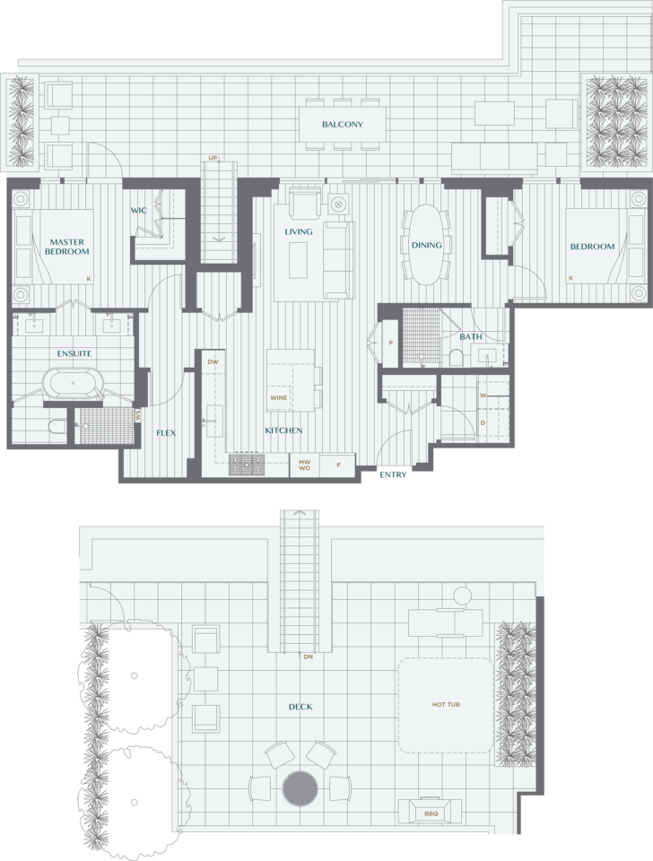 Legacy On Dunbar Floorplan PH2B