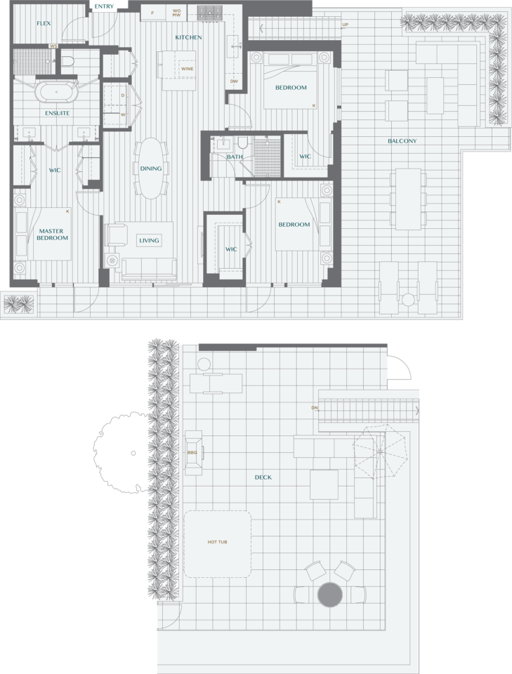 Legacy On Dunbar Floorplan PH3A