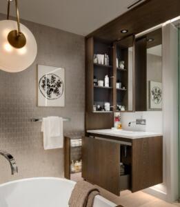 Bathroom Custom Cabinetry
