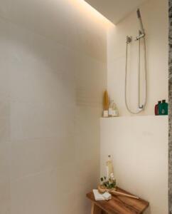 Bathroom Limestone Shower