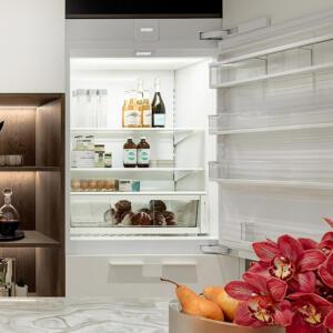 Kitchen Fridge and Freezer